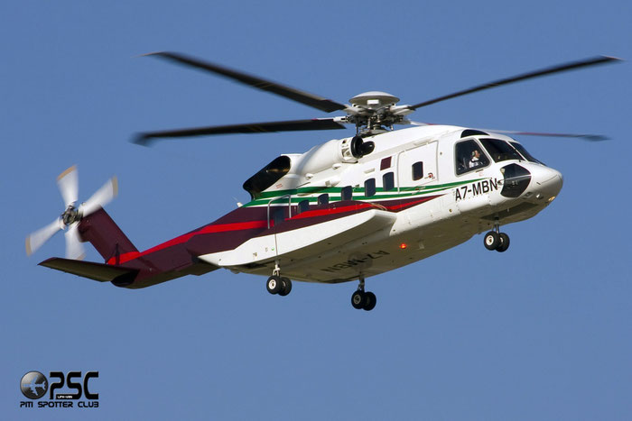Gulf Helicopters - Sikorsky S-92 Helibus - A7-MBN @ Aeroporto di Verona © Piti Spotter Club Verona