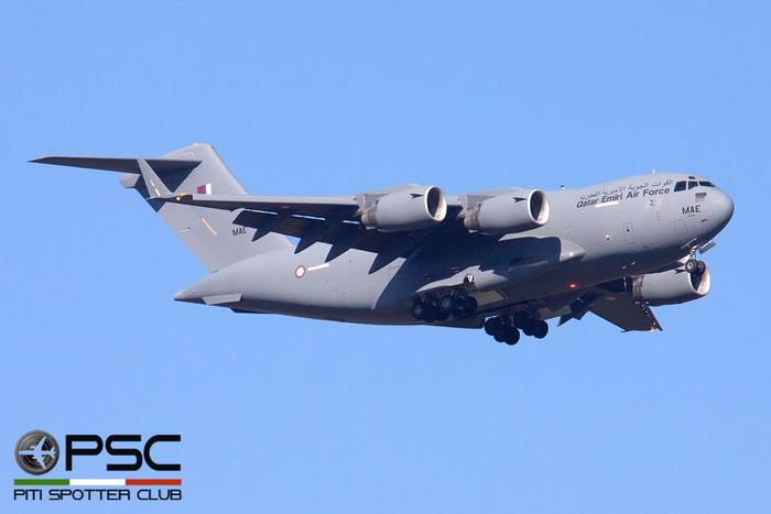 A7-MAE  MAE  C-17A  50253/F252/QA4  10sq  © Piti Spotter Club Verona