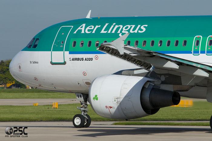 EI-CVA A320-214 1242 Aer Lingus @ Manchester Airport 13.05.2014  © Piti Spotter Club Verona