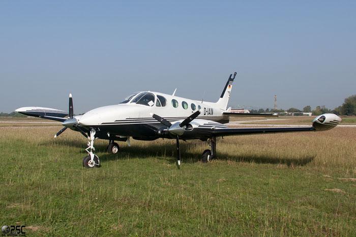 D-IAIN Cessna 340A C340 340A0921 @ Aeroporto Verona Boscomantico © Piti Spotter Club Verona