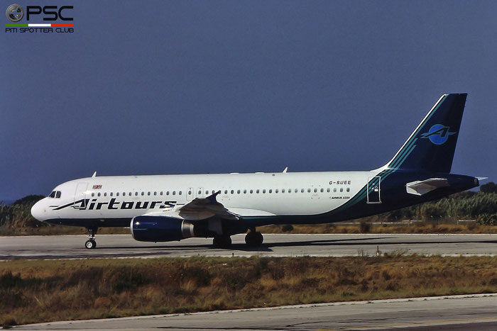 G-SUEE A320-231 363 Airtours International Airways © Piti Spotter Club Verona