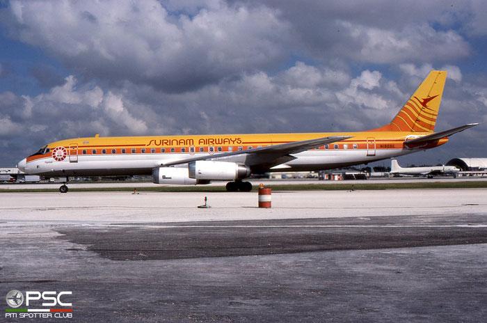 N1809E DC-8-62 46107/498 Surinam Airways © 2018 courtesy of Marco Ceschi - Piti Spotter Club Verona