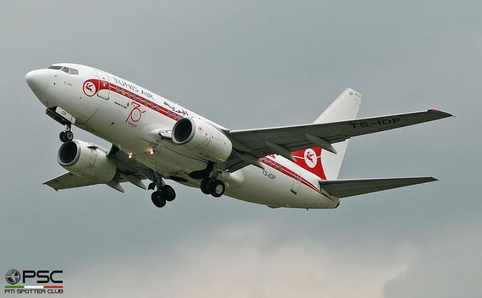 TS-IOP B737-6H3 29500/543 Tunisair @ Aeroporto di Verona 05.2019  © Piti Spotter Club Verona