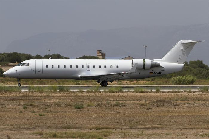 EC-GYI CRJ200ER 7249 Air Nostrum @ Palma de Mallorca Airport 07.2014 © Piti Spotter Club Verona