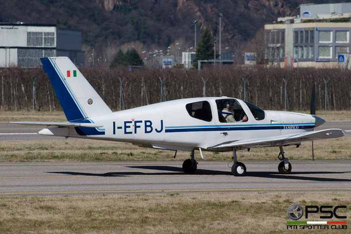 I-EFBJ SOCATA TB-9 Tampico TAMP 104 @ Aeroporto di Bolzano © Piti Spotter Club Verona