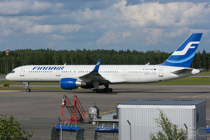OH-LBR B757-2Q8 28167/775 Finnair @ Helsinki Airport 2008 © Piti Spotter Club Verona