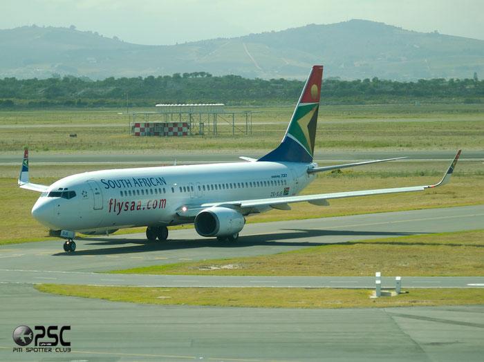 ZS-SJE B737-85F 28830/669 South African Airways @ Cape Town Airport 22.03.2014 © Piti Spotter Club Verona