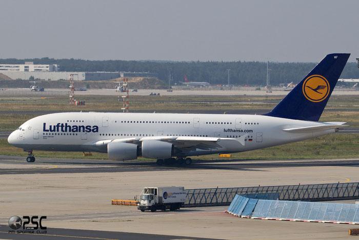 D-AIMF A380-841 66 Lufthansa @ Frankfurt Airport 25.07.2014 © Piti Spotter Club Verona