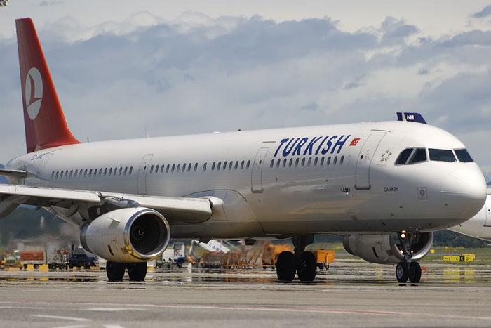 TC-JMD A321-231 810 Turkish Airlines - THY Türk Hava Yollari @ Milano Malpensa Airport 07.2009 © Piti Spotter Club Verona