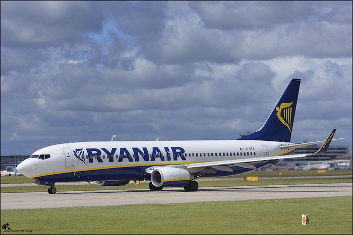 EI-EFX B737-8AS 35019/3079 Ryanair @ Manchester Airport 21.06.2015 © Piti Spotter Club Verona