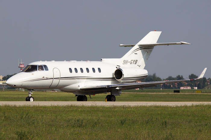 9H-GYB BAe125-900XP HA-0161 Comlux Aviation Malta @ Bologna Airport 07.09.2014 © Piti Spotter Club Verona