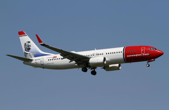 EI-FVI B737-800 42274/6247 Norwegian @ Aeroporto di Verona 10.06.2018  © Piti Spotter Club Verona