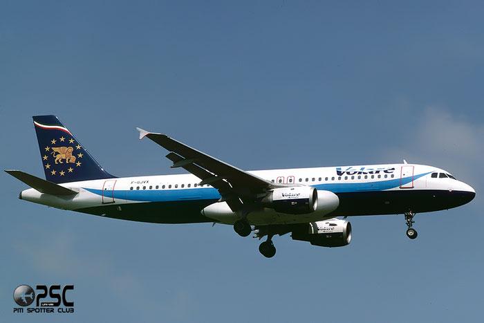F-GJVX  A320-211  420  Volare Airlines  @ Aeroporto di Verona © Piti Spotter Club Verona