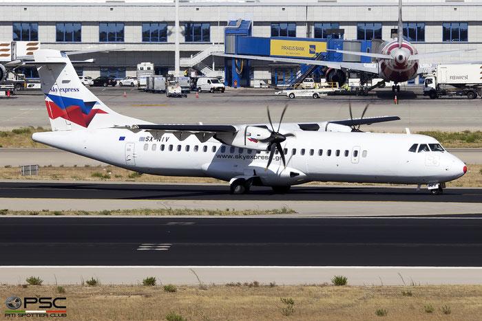 SX-NIV  ATR72-212A  767  Sky Express @ Athens 2019 © Piti Spotter Club Verona