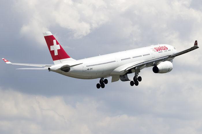 HB-JHJ A330-343E 1188 Swiss International Air Lines @ Zurich Airport 05.2016 © Piti Spotter Club Verona