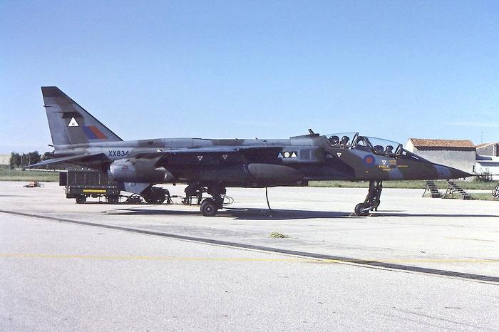 XX834   Jaguar T2A  B22  6sq @ Aeroporto di Verona   © Piti Spotter Club Verona
