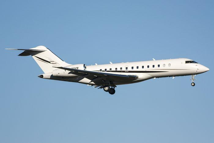P4-VVF Global Express 9147 Global Jet Luxemburg SA @ Trieste Airport 26.11.2013 © Piti Spotter Club Verona