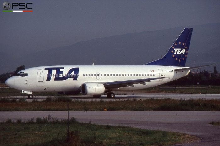 I-TEAA B737-3M8 24020/1614 TEA Italy - Trans European Airways © 2018 courtesy of Marco Ceschi - Piti Spotter Club Verona