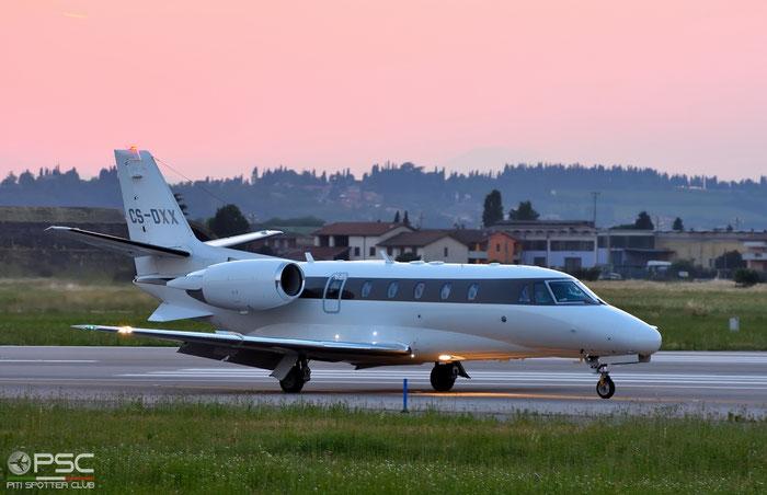 CS-DXX Ce560XLS 560-5789 NetJets Europe @ Aeroporto di Verona 26.05.2017  © Piti Spotter Club Verona