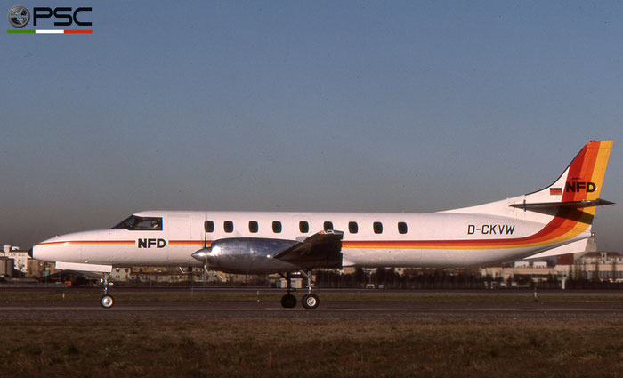 D-CKVW SA227AC AC-543B NFD - Nürnberger Flugdienst © 2018 courtesy of Marco Ceschi - Piti Spotter Club Verona