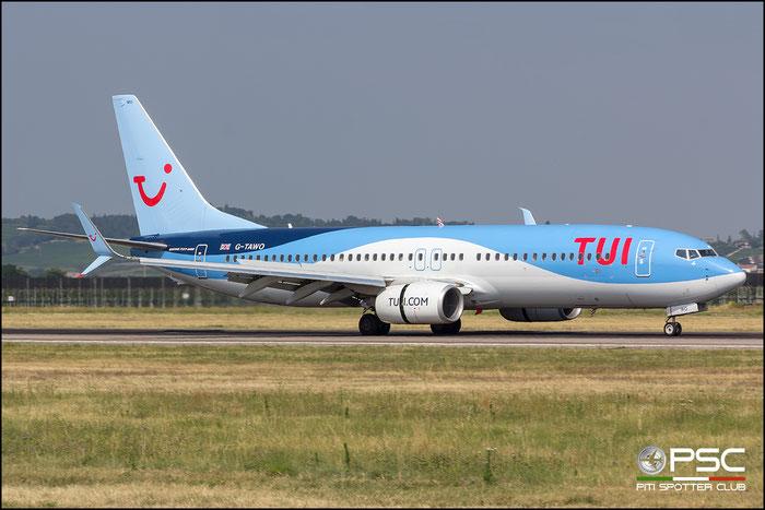 G-TAWO B737-8K5 37255/4384 TUI Airways @ Aeroporto di Verona 14.07.2018  © Piti Spotter Club Verona