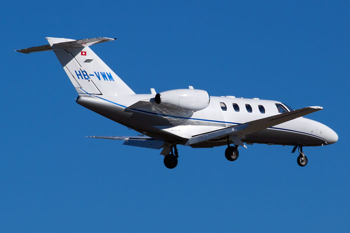 HB-VWM Ce525 (CJ1+) 525-0690 Nomad Aviation AG @ Bologna Airport 05.02.2013 © Piti Spotter Club Verona