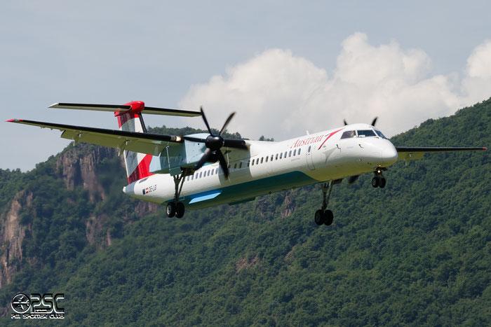 OE-LGI DHC-8-402 4100 Austrian Airlines @ Aeroporto di Bolzano © Piti Spotter Club Verona