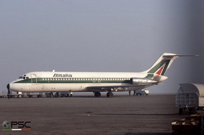 I-DIKE DC-9-32 47039/154 Alitalia © 2018 courtesy of Marco Ceschi - Piti Spotter Club Verona