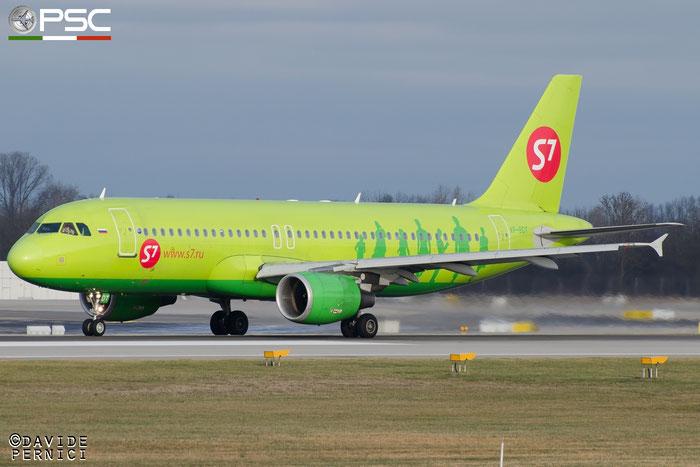 VP-BDT A320-214 3494 S7 Airlines @ Munich Airport 13.12.2015 © Piti Spotter Club Verona