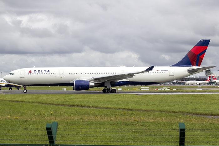 N827NW A330-302E 1716 Delta Air Lines @ Dublin Airport 14.08.2016 © Piti Spotter Club Verona