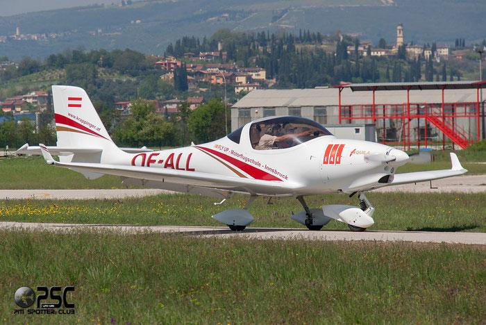 OE-ALL Aquila A-210 AT01 A210 AT01-202 @ Aeroporto Verona Boscomantico © Piti Spotter Club Verona