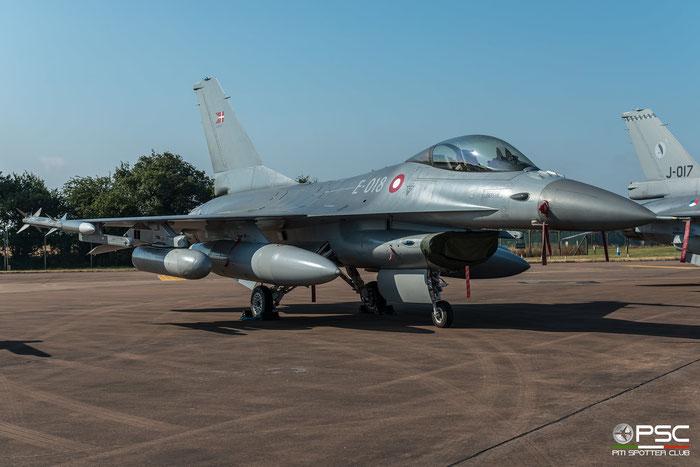 E-018   F-16AM  6F-54  Esk 727 © Piti Spotter Club Verona