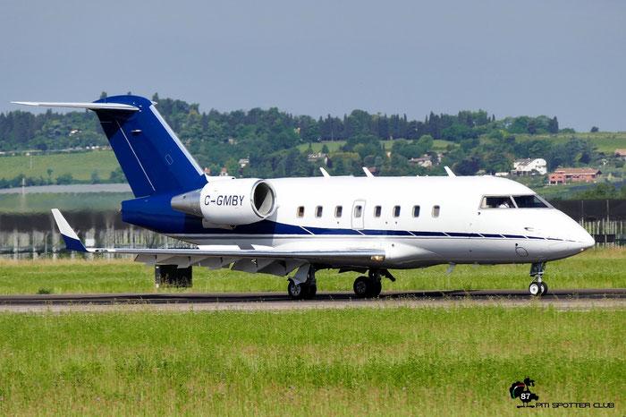 C-GMBY CL-604 5657 Aviation Jolina SEC @ Aeroporto di Verona 27.05.2017  © Piti Spotter Club Verona