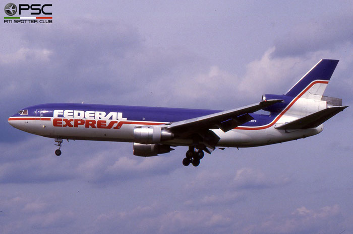 N311FE DC-10-30F 46871/219 FedEx Express - Federal Express © 2018 courtesy of Marco Ceschi - Piti Spotter Club Verona