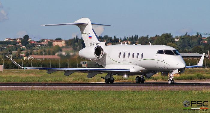 RA-67243 CL-350 20643 Tulpar Air @ Aeroporto di Verona 03.2019  © Piti Spotter Club Verona