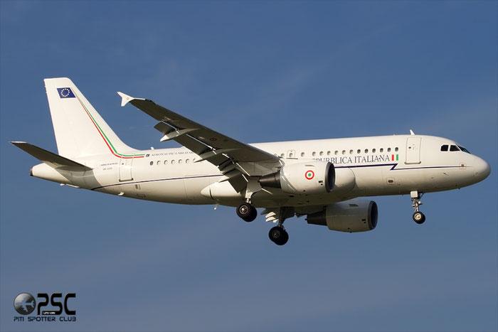 MM 62209 - Italy - Air Force Airbus A319-115X(CJ) - MM62209 @ Aeroporto di Verona © Piti Spotter Club Verona
