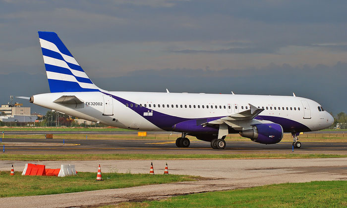 EK32002 A320-211 726 Atlantis European Airways @ Aeroporto di Verona 11.2018  © Piti Spotter Club Verona