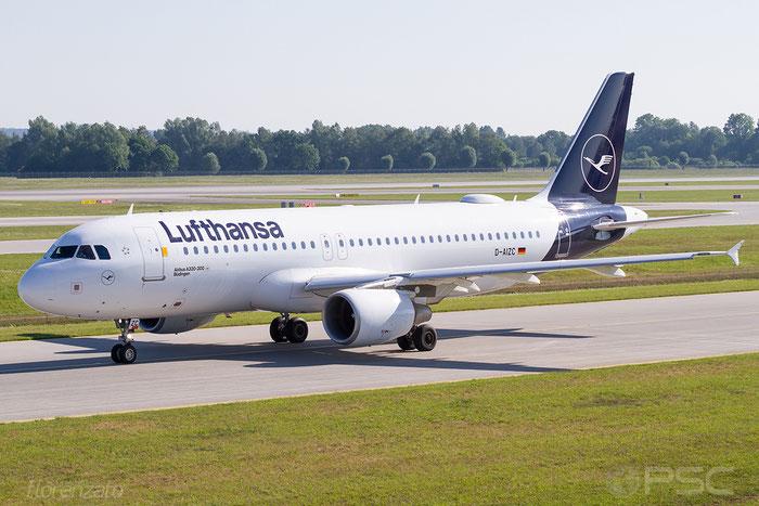 D-AIZC A320-214 4153 Lufthansa @ Munich 05.2018 © Piti Spotter Club Verona