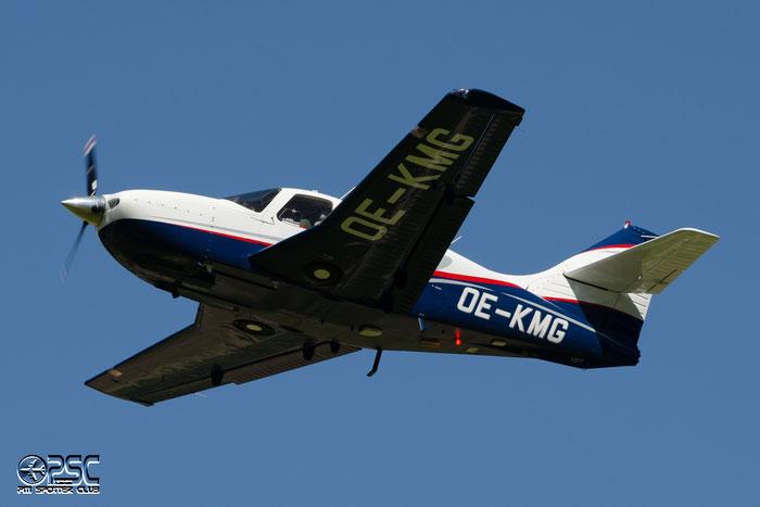 OE-KMG Commander Aircraft Co Commander AC11 @ Aeroporto di Bolzano © Piti Spotter Club Verona