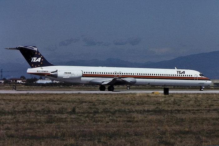 I-SMER MD-82 49901/1766 TEA Italy - Trans European Airways @ Aeroporto di Verona © Piti Spotter Club Verona