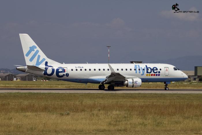 G-FBJA ERJ175STD 17000326 Flybe - British European  @ Aeroporto di Verona 22.07.2017  © Piti Spotter Club Verona