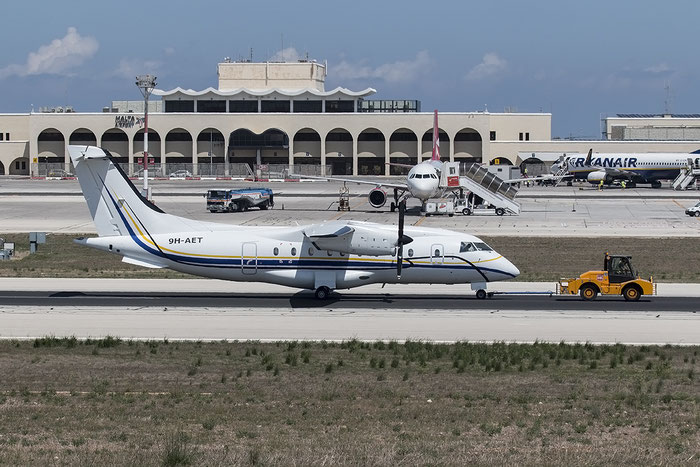 9H-AET Do328-110 3117 Medavia - Mediterranean Aviation Company @ Malta Airport 08.2015 © Piti Spotter Club Verona