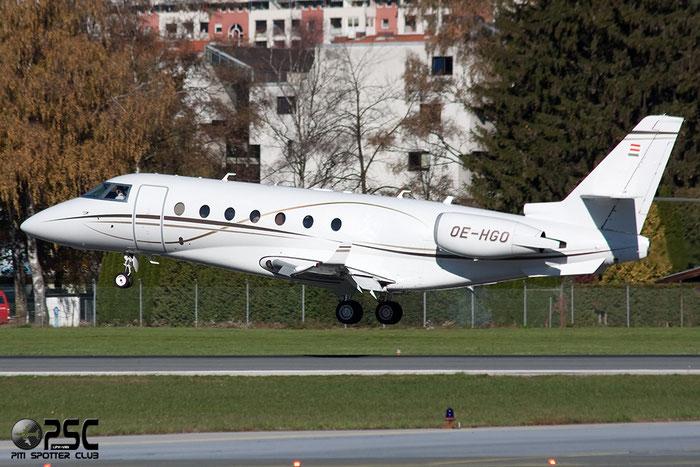 OE-HGO G200 238 M-Jet GmbH @ Innsbruck Airport 26.10.2013 © Piti Spotter Club Verona