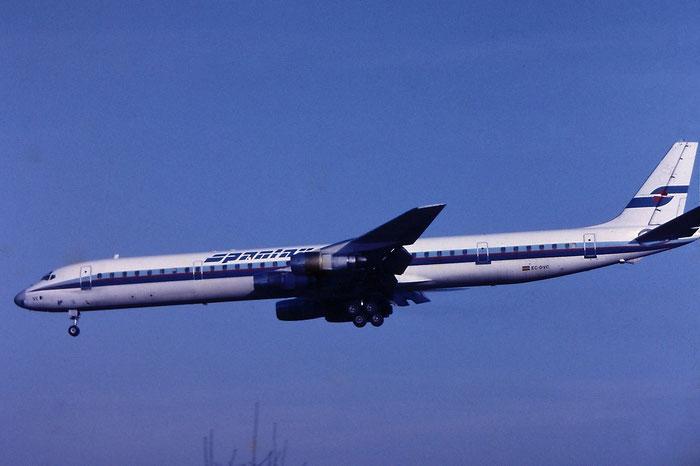 EC-DVC DC-8-61 46016/409 Spantax @ Aeroporto di Verona © Piti Spotter Club Verona