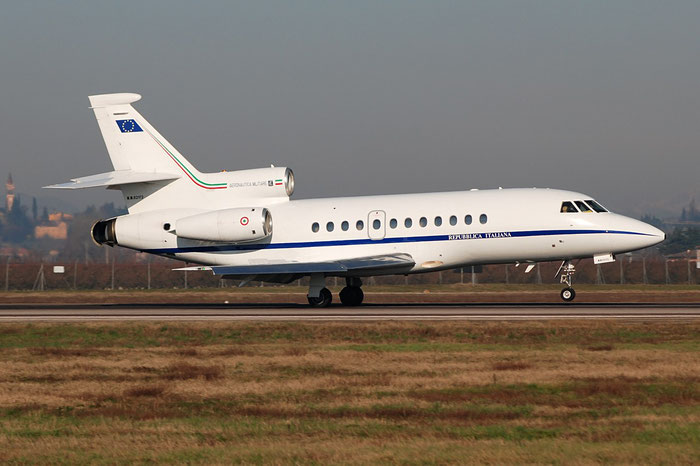 MM62172 - Italy - Air Force -Dassault Falcon 900EX - MM62172 @ Aeroporto di Verona © Piti Spotter Club Verona