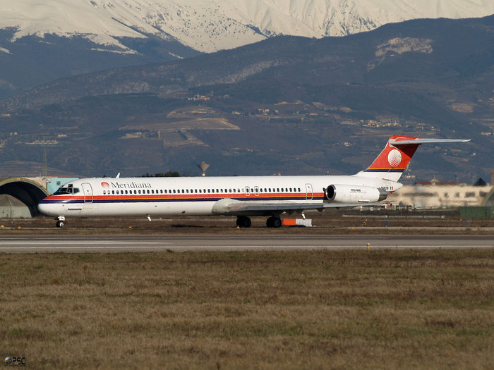 I-SMEM  MD-82  49248/1152  Meridiana  @ Aeroporto di Verona © Piti Spotter Club Verona