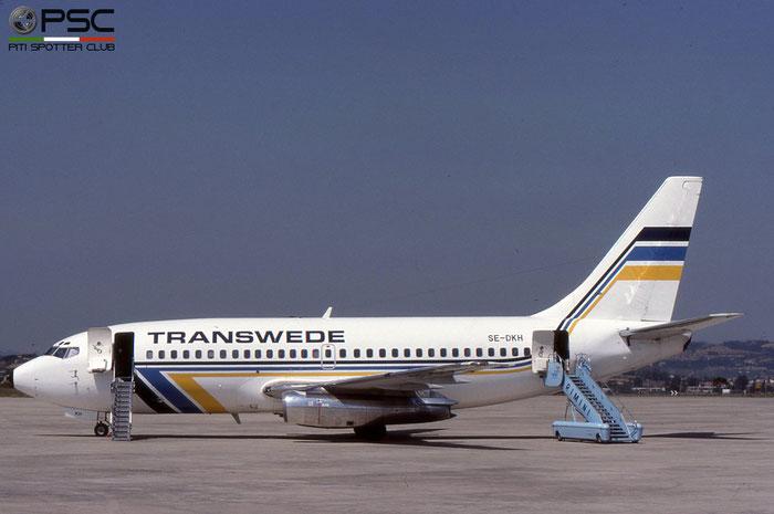 SE-DKH B737-205 20412/225 Transwede Airways © 2018 courtesy of Marco Ceschi - Piti Spotter Club Verona