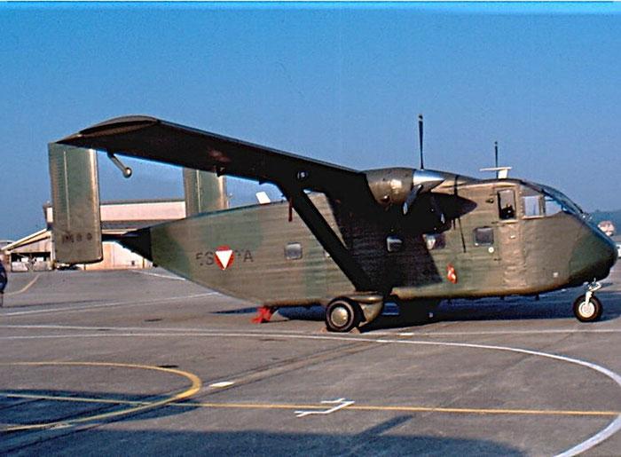 5S-TA  SC7-3M SH1855 Austria Air Force © courtesy of Claudio Toselli - Piti Spotter Club Verona
