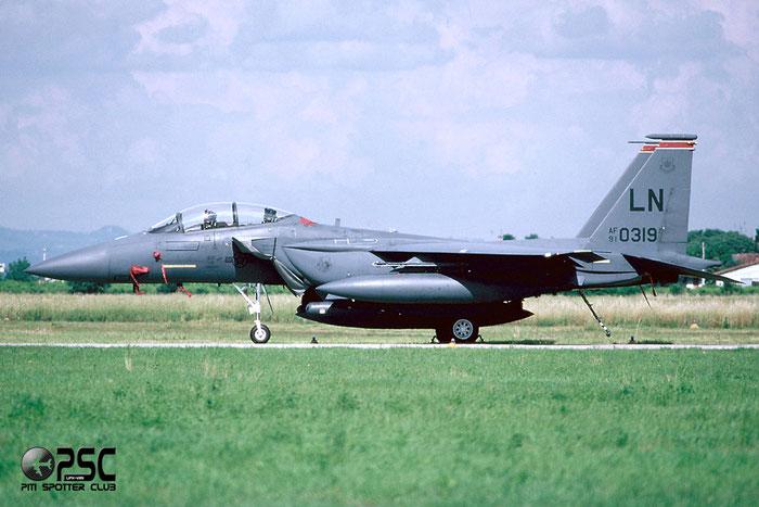 91-0319  MO  F-15E-52-MC  1226/E184  391st FS   @ Aeroporto di Verona   © Piti Spotter Club Verona