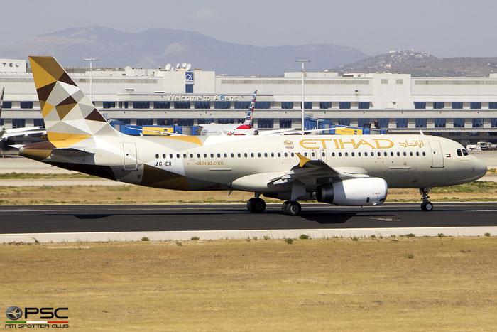 A6-EII  A320-232  3713  Etihad Airways @ Athens 09.2019 © Piti Spotter Club Verona